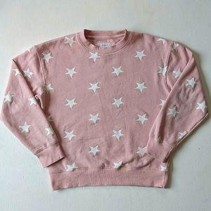 Reflex Stars Crewneck Long Sleeve Pullover Sweater